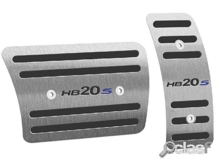 Pedaleira hb20s automático em aço inox escovado