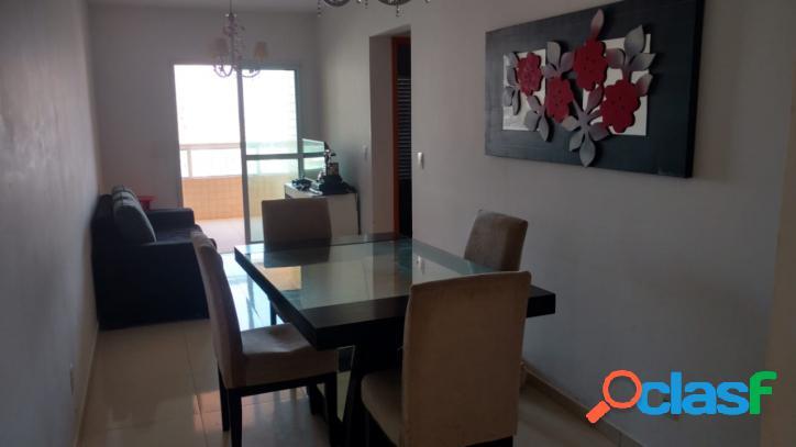 Apartamento alto padrão na praia grande, no bairro da vila guilhermina, com 3 dormitórios