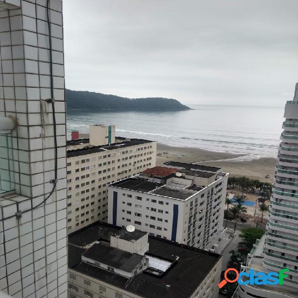 Apartamento auto padrão, vista mar, mobiliado, 03 dorm. 2 suítes.