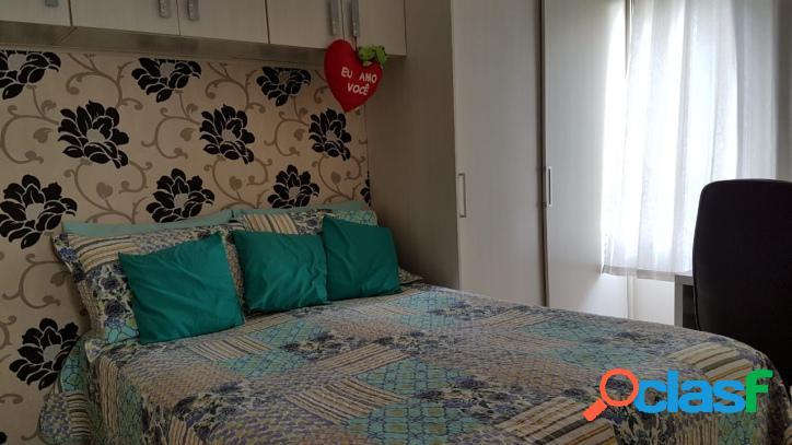 Apartamento caiçara 2 dormitórios / perto da praia