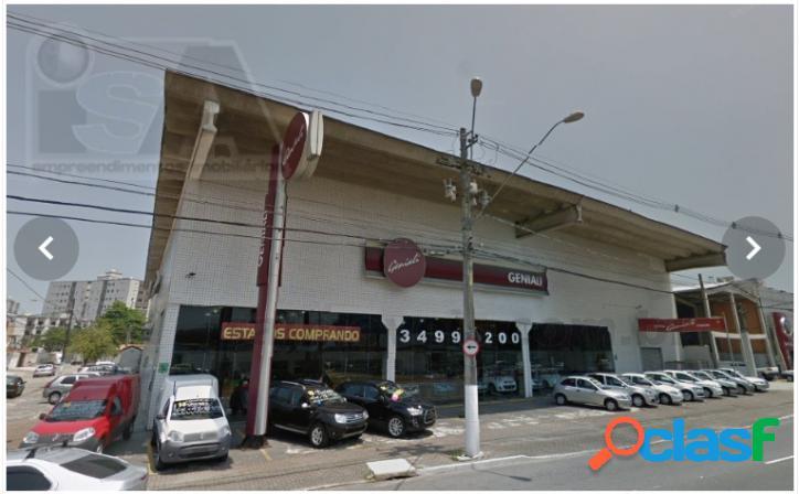 * loja comercial na av. principal / 300 mts / guilhermina ! galpão.