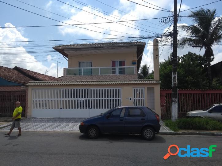 Casa sobreposta, bairro maracanã, praia grande, cód.: 2387