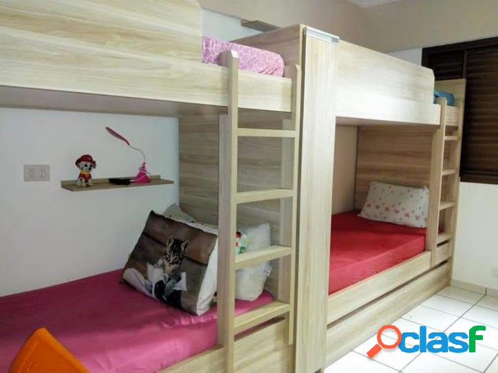 2 Dormitórios / 1 Suíte / Vila Tupi / Mobiliado 2