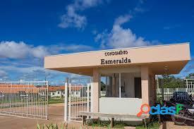 Vendo casa cond. esmeralda - varzea grande - segurança e comodidade