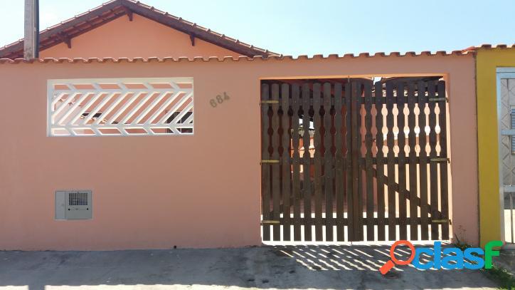 Casa em mongaguá nova 2 dormitórios