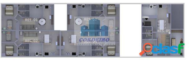 Apartamento de 2 dormitórios em santo andré