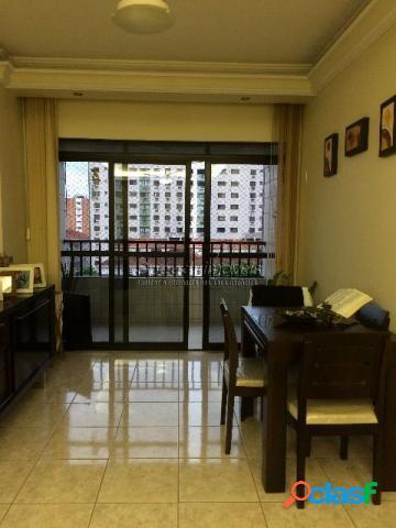 Venda apartamento em santos, 2 dormitórios.