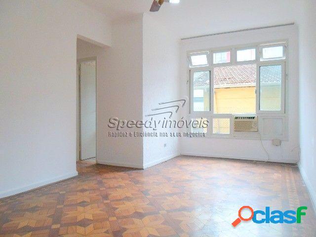 Venda apartamento em santos, vila belmiro, 2 dormitórios