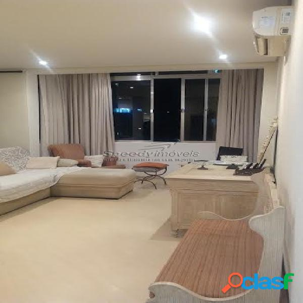 Apartamento em santos, josé menino, 3 dormitórios.