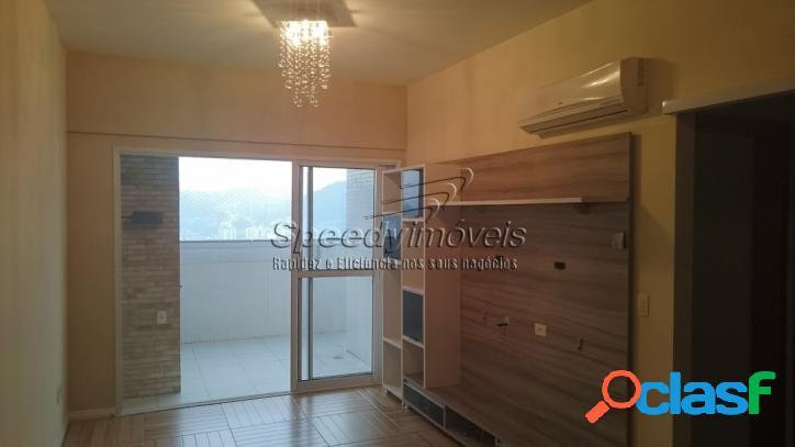 Edifício São Basílio, Apartamento em Santos SP 2 dormitórios 1