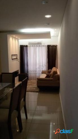 Apartamento em santos sp, com 2 dormitórios para vender