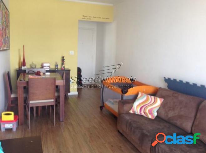 Apartamento em santos sp vila belmiro - 2 dormitórios