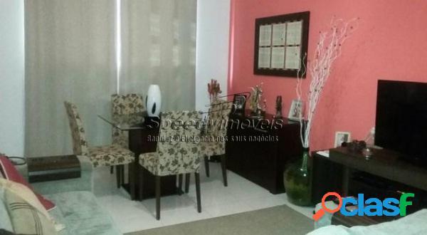 Apartamento em Santos, Gonzaga - 3 dormitórios