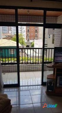 Apartamento á venda em Santos com 3 dormitórios.