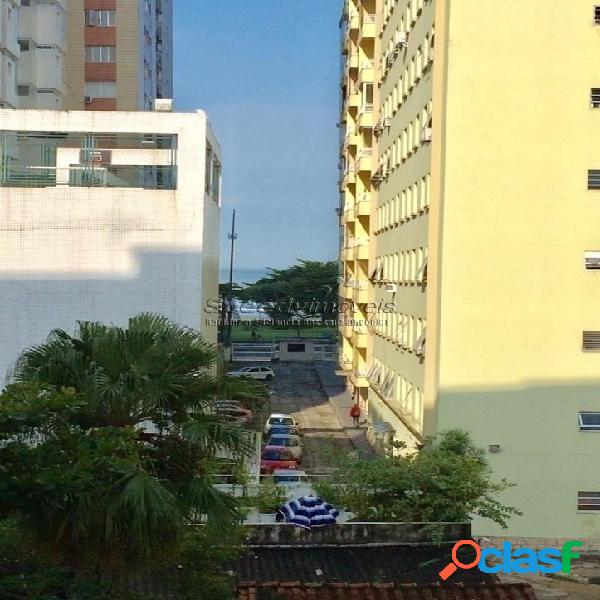 Apartamento 1 dormitório á venda em Santos