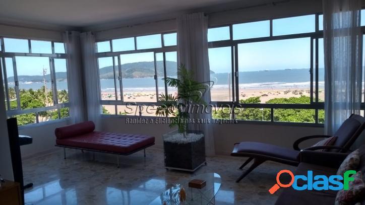 Apartamento na orla da praia do Gonzaga, Edifício Veleiro