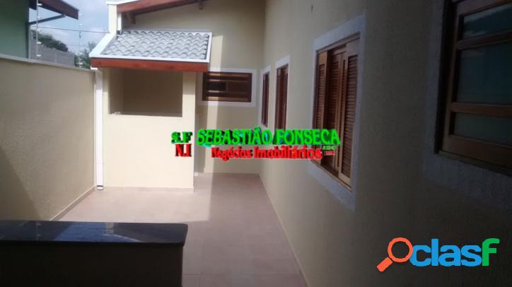 Casa nova 3 dormitórios-suíte no vila branca em jacareí