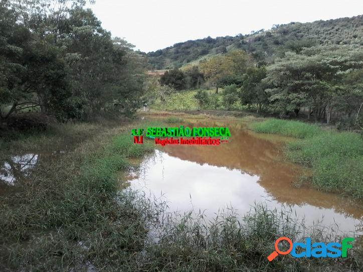 Chácara 6 mil m² em paraibuna, com lago e nascente de água