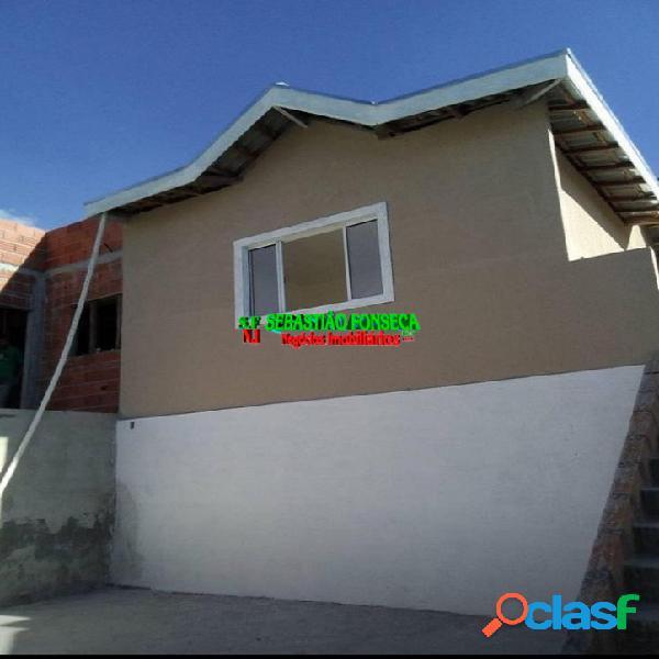 Casa nova, dois dormitórios, Jardim Santa Júlia 1