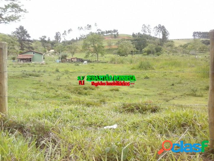 Sítio, área com 9,68 hectares em paraibuna, 100% plano
