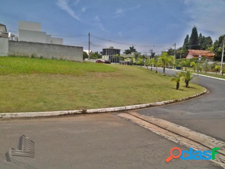 Terreno lote de 496m² em condomínio villa verona sorocaba