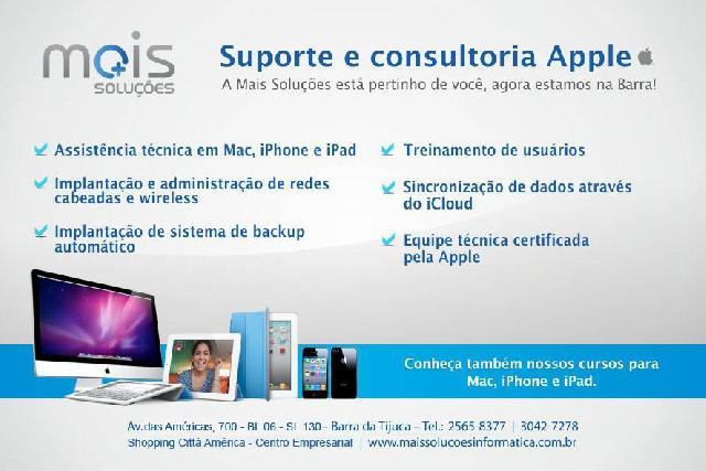 Assistência técnica apple macintosh - mac