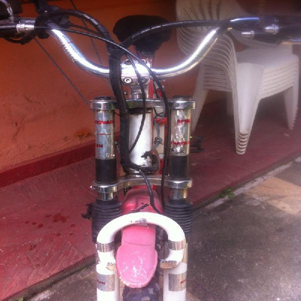 Bicicleta elétrica c/ acelerador e pedal assistido, 5