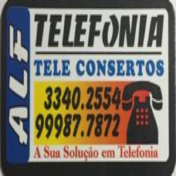 Consertos de linha telefonica interna