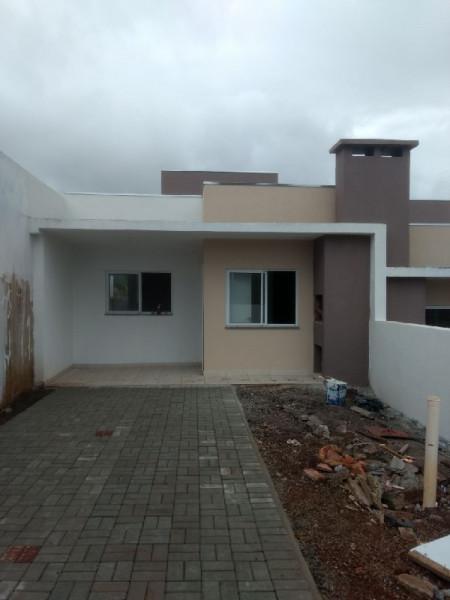 Casa germinada bairro vila real - chapecó/sc
