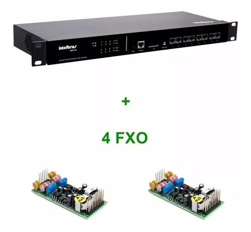 Central pabx ip intelbras voip cip 850 gateway 4 portas fxo