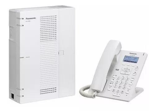 Central Pabx Ip Panasonic Kx Hts32 4 Tr. 8 Ram. + Hdv 130