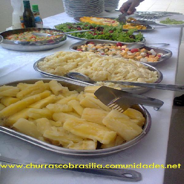 Churrasco brasília buffet
