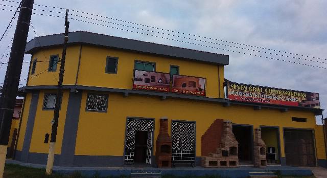Itanhaém salão sobrado negócio comercio permuta