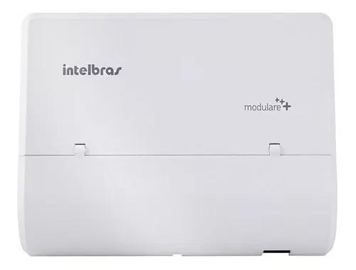 Micro central pabx modulare+ mais 2 linha 4 ramal intelbras