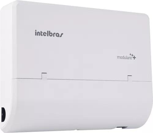 Micro pabx intelbras modulare + 4 linhas 12 ramais
