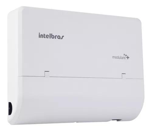Micro pabx intelbras modulare mais 4 linhas 12 ramais