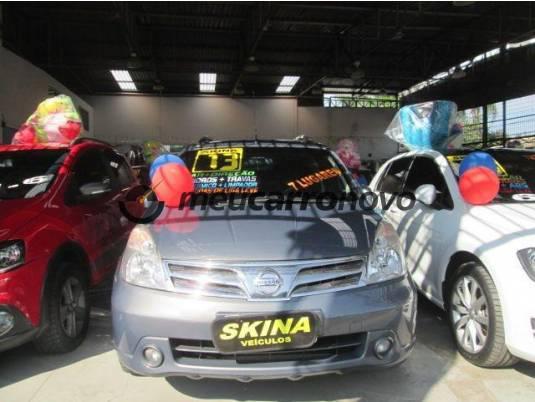 Nissan livina grand sl 1.8 16v flex fuel aut. 2012/2013
