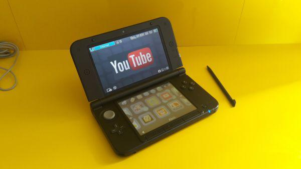 Nintendo 3ds xl black + pokémon alpha sapphire