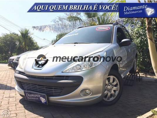 Peugeot 207 sw xr sport 1.4 flex 8v 5p 2010/2011