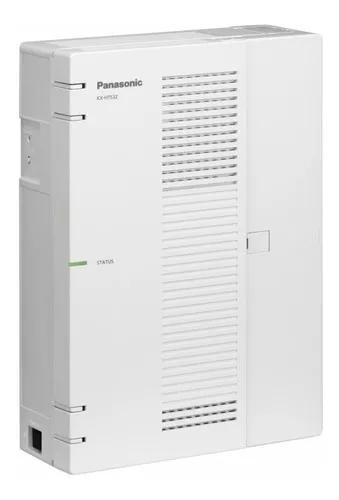 Pabx ip hibrido central panasonic kx-hts32 4 tr 24rm