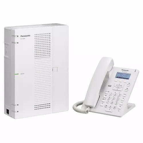 Pabx ip panasonic kx hts32 4 tr. 8 ram. + hdv 130
