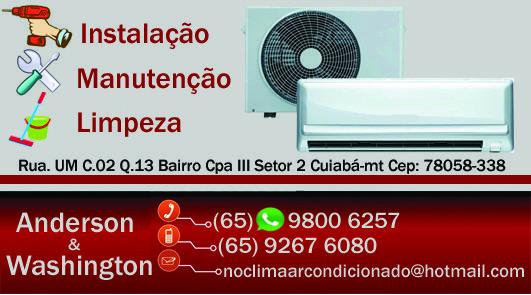 Ar condicionado   instalação e limpeza