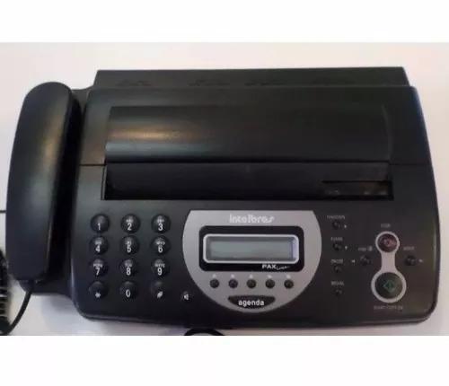 Aparelho de fax intelbras linea