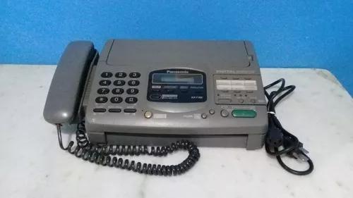 Aparelho de fax panasonic kx-f780 - funcionando