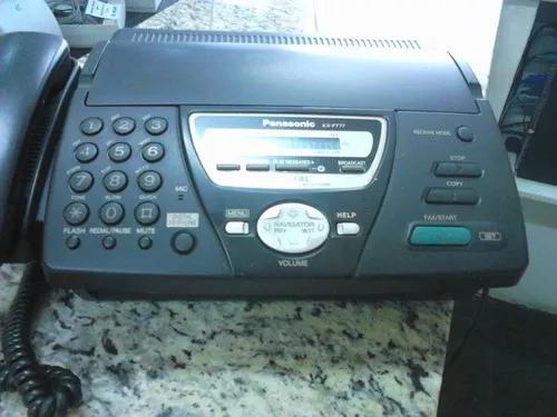 Aparelho de fax panasonic kx-ft71la + 02 bobinas térmicas