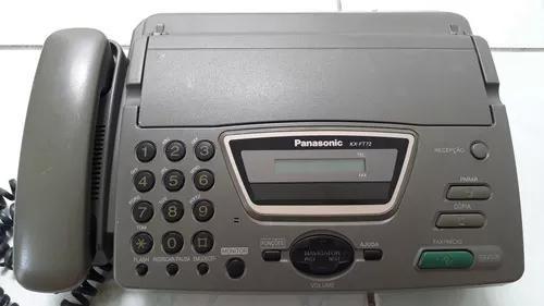 Aparelho de fax panasonic kx-ft72 perfeito - frete grátis