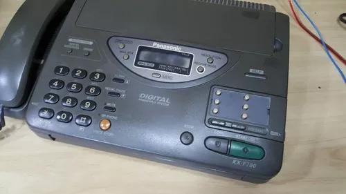 Aparelho de fax panasonic kxf 700 funcionando no estado