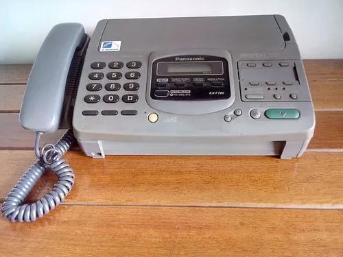 Aparelho de fax panasonic modelo kx-f780