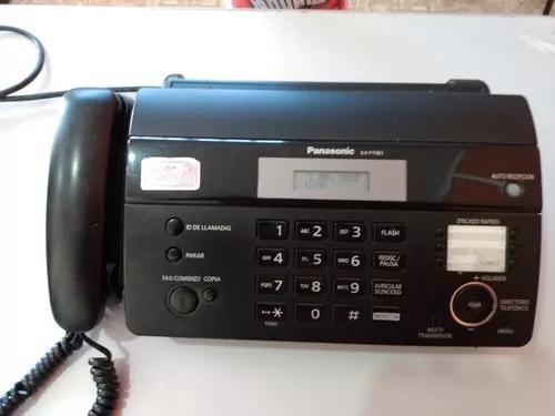 Aparelho de fax panasonic modelo kx-ft981