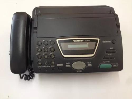 Aparelho de fax panasonic usado